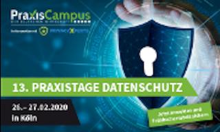 13. Praxistage Datenschutz